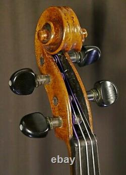 Fine Baroque Antique Vieux Violon Bohème Écouter La Vidéo