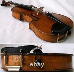 Fine Old 19th Centrury Violin -voir La Vidéo Antique Violino 420