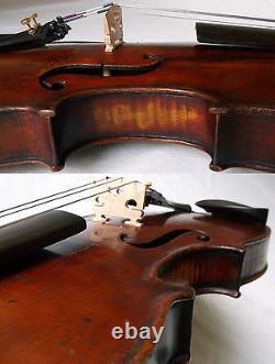 Fine Old 19th Centrury Violin -voir Vidéo Antique Violino 587