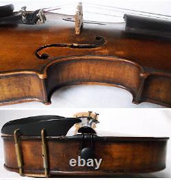 Fine Old Alleman Franz Hell Violin Video Antique Violono 182