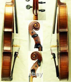 Fine Old Allemand Stradiuarius Violin -video- Antique Master 372