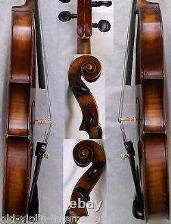Fine Old Allemand Violin W. Ott - Voir La Vidéo Rare Antique Master 803