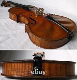 Fine Old American Master Violin Chicago 1885 -vidéo- Antique 240