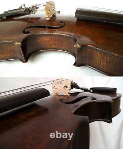 Fine Old Français Master Violin Charotte 1930 Vidéo Antique 540
