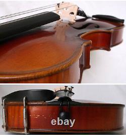 Fine Old Français Violin Video Antique Rare Violino Violon 166