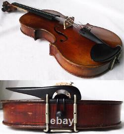 Fine Old French Amatus Violin Vidéo Antique Master Violino 234