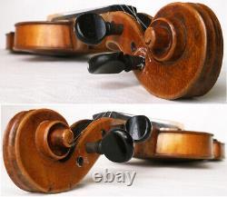Fine Old French Violin Vers 1920 Vidéo Antique Master 243