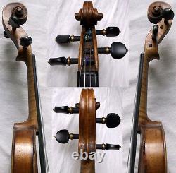 Fine Old German Master Violin Challier Vidéo Antique 570