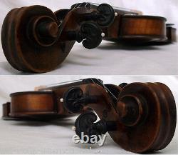 Fine Old German Master Violin E. Martin Video Rare Antique 828