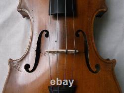 Fine Old German Violin Vers 1930 Vidéo Antique Master 928