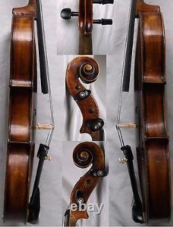 Fine Old German Violin Vers Les Années 1930 Video Antique Violino 935