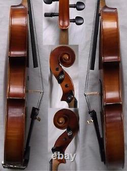 Fine Old German Violin Vers Les Années 1950 Video Antique Violino 037