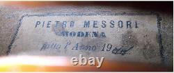 Fine Old Italian Violin Messori Vidéo Antique Rare Master 101