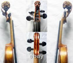 Fine Old Lionhead Violin Vidéo Antique Rare Lion Head 334