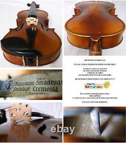 Fine Old Stradivarius Violin Karl Hoefner Video Antique Rare 146