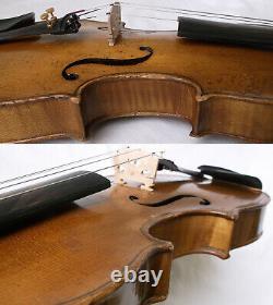 Fine Old Violin 1940 Voir Video Antique Violino Master 791