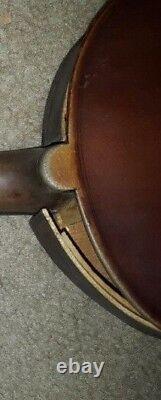 Grandeur Vintage Antique Vieux Violon Taille 4/4 Étiqueté Fabriqué En France