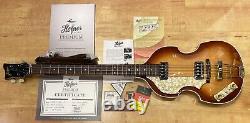 Hofner Vintage 62 500/1 Violon Lefty Beatle Bass (sunburst) Snv1023h008