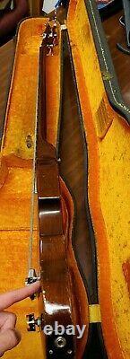 I239 Vintage Gibson Eb-1 Violin Bass Guitar Avec Case Numéro De Série 810964