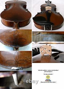 Intéressant Violin 4/4 Voir Vidéo Anticique Fine Violino 581