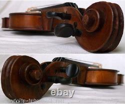 Intéressant Violin 4/4 Voir Vidéo Anticique Fine Violino 862