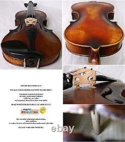Interesting Old German Violin Vidéo Antique Fine Rare 938