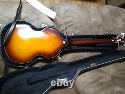 Jay Turser Jtb-2b Guitare Basse Électrique, Vintage Sunburst Violon Beatle Basse