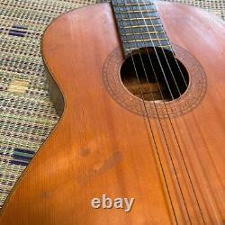 Kiso Suzuki-violin 293.841 Guitare Acoustique Japonais Vintage Classical Gut Des Années 1970