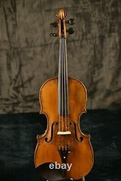 Labeled Joseph Antonius Rocca, Antique Vieux Violon Italien Vintage! Puissant