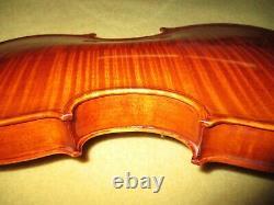 Not Old Antique 2010 Vintage Master Made 4/4 Violin-great Wood-big Rich Sound