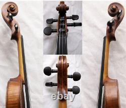 Old Allemand 19ème C Hopf Violin Vidéo Antique Master Rare 149
