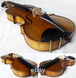 Old Allemand Master Violin Carl August Schuster Video- Antique 331