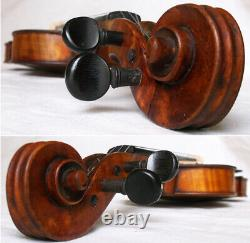 Old Allemand Master Violin Josef Tiefenbrunner 1883 Vidéo Antique 319