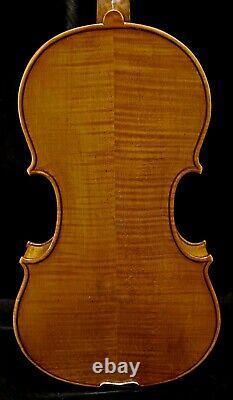 Old Antique Bohemian Violin-écouter La Vidéo- Benjamin Patoka Circa 1910