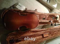 Old Antique Vintage Violin Authentique Fabriqué En 1981