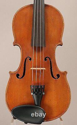 Old, Antique, Vintage Violin Lab. Copie D'antonius Stradivarius Allemagne 1/2 Taille