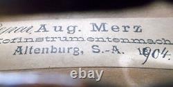 Old German 19th C Master Violin Klotz Kloz Video Antique 023