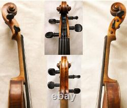 Old German 19th Ctry Hopf Violin Vidéo Antique Master Rare 301