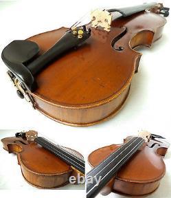 Old German Guarnerius Violin R. Geipel Sons -voir La Vidéo Antique 400