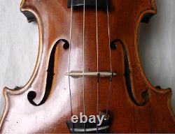 Old German Lionhead Violin J. Haslwanter 1872 Vidéo Antique 508
