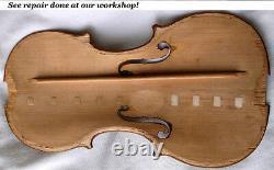 Old German Master Violin Heinel 1930 -voir La Vidéo Antique Rare 434