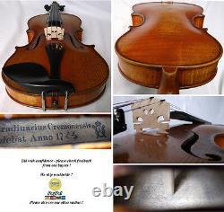 Old German Master Violin Otto Windisch Voir La Vidéo Antique 606