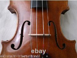 Old German Violin Ernst Heinrich Roth 1940 Vidéo Antique 868
