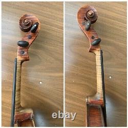Old Vintage American Violon 4/4 Antique Belle Flamme 1922