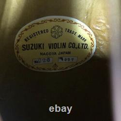 Pas De Mandoline. 226 Suzuki Violon Nagoya Érable Bolback Bois De Rose D'épinette De Japon