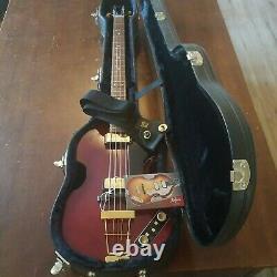 Rare 2006 Hofner Beatle Basse 500/1 63 Vintage Red Seulement 14 Made