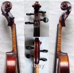 Rare Fine Old Violin Voir Vidéo Antique Master Violino 889