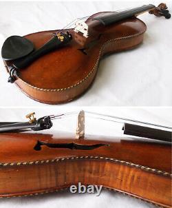 Rare Old Gusetto Violin Vidéo Antique Allemand Guseto 209