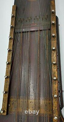 Rare Vintage 1924 Bois 32 Cordes Hawaiian Art Violin Ukelin Co New Jersey