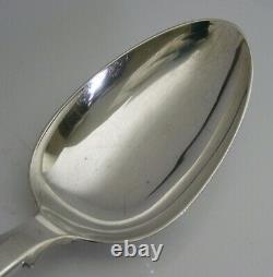 Superbe Georgian Sterling Silver Fiddle Pattern Basting Spoon 1830 Antique